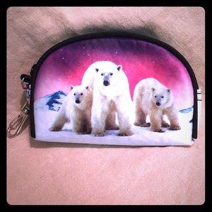 Accessories - 🆕Polar Bear Coin Purse Small
